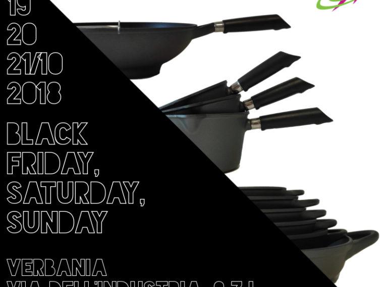 BLACK FRIDAY, SATURDAY, SUNDAY.