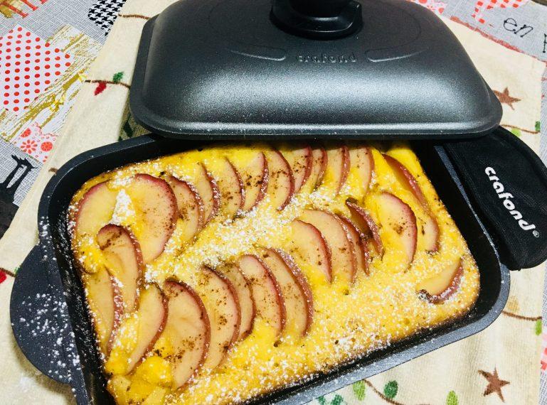Torta di mele alta e soffice