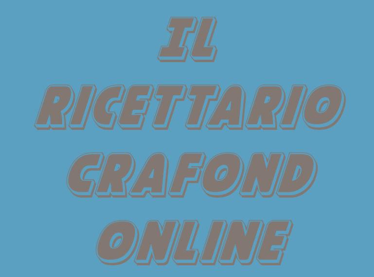 RICETTARIO CRAFOND ONLINE